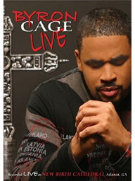 DVD Byron Cage - Live