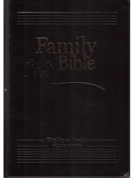 FAMILY BIBLE - KJV - King James Version